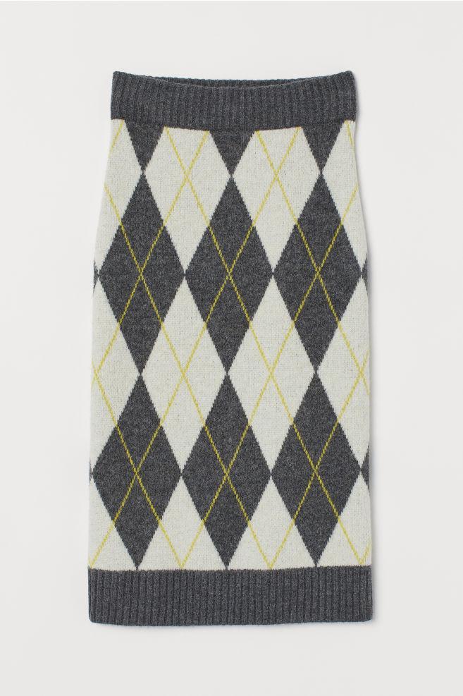 Jacquard-knit Skirt