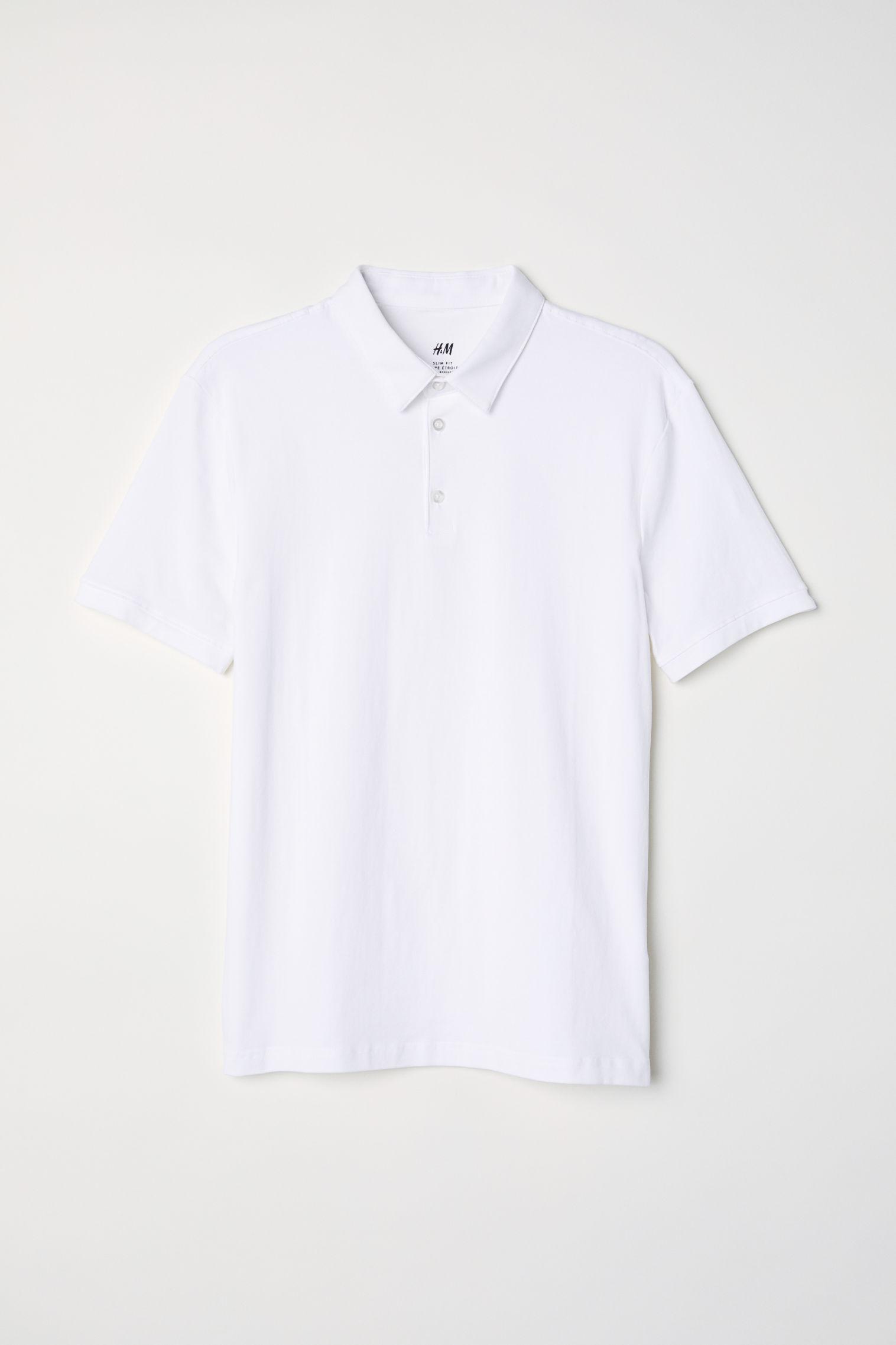251044f20 Polo shirt Slim fit   H&M UAE
