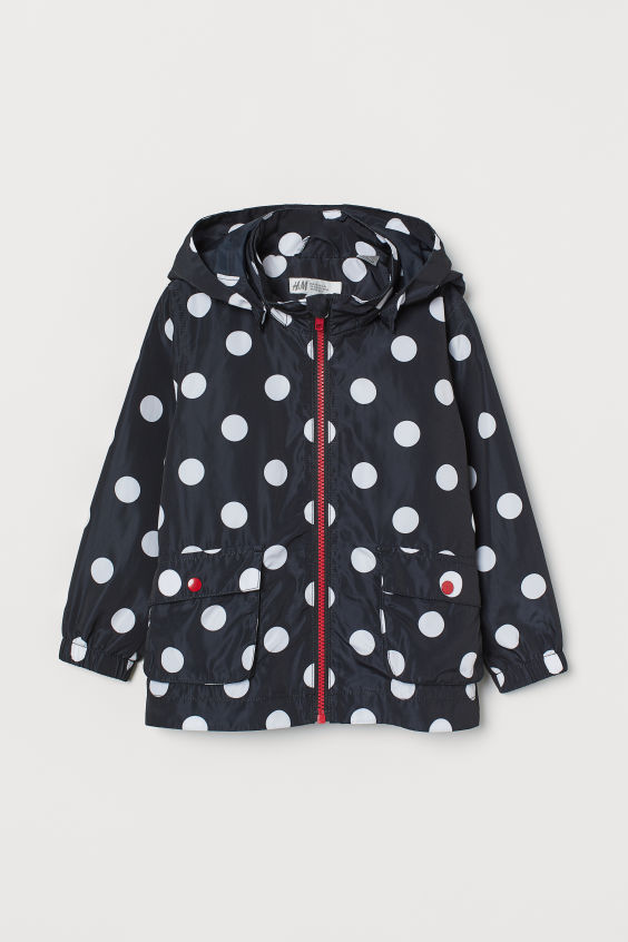 Hooded Jacket - Black/Minnie Mouse - Kids | H&M US 3
