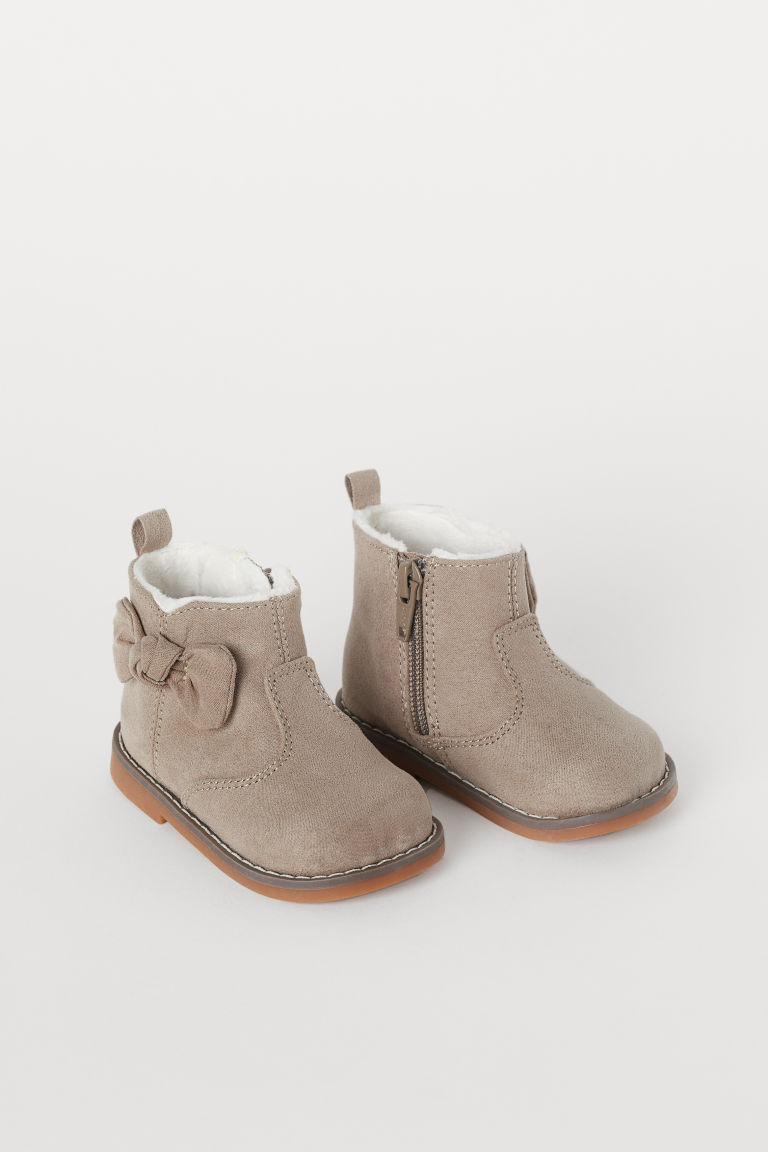 Warm-lined Boots - Taupe - Kids | H&M US