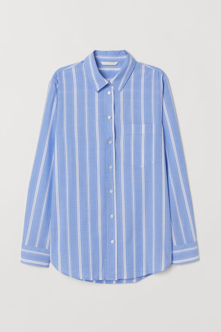 H&M – CHEMISE A RAYURE