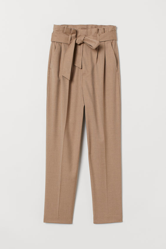 H&M Tie Waist Trousers