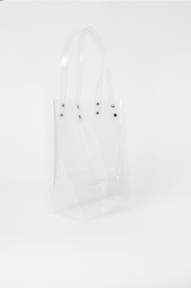 22b9b8d17 Bolsa shopper transparente - Transparente - MUJER | H&M ...
