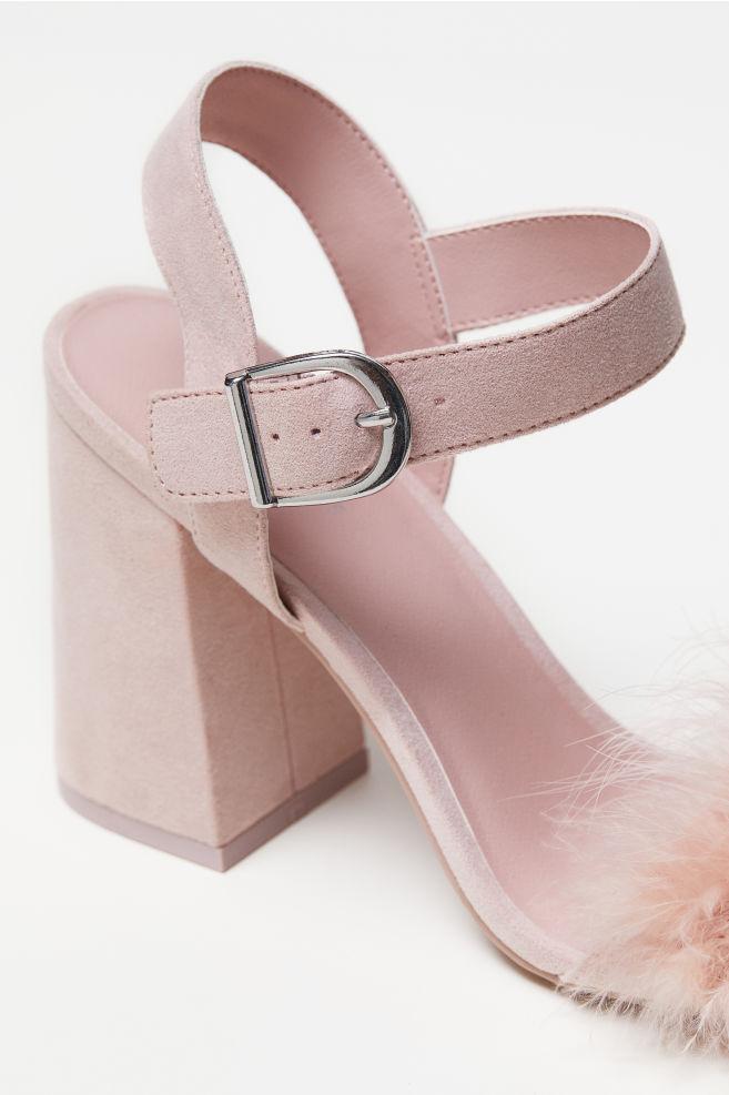 f125f39feca Block-heeled sandals