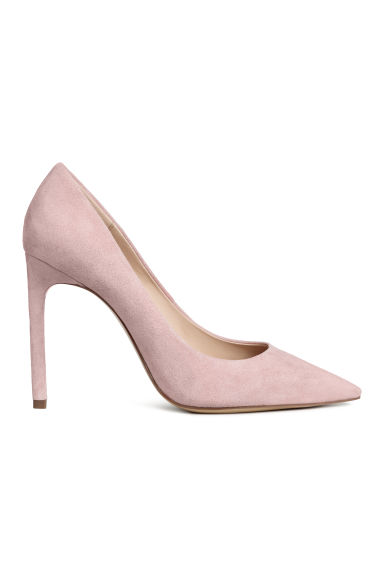 Court shoes - Powder pink -  | H&M CN