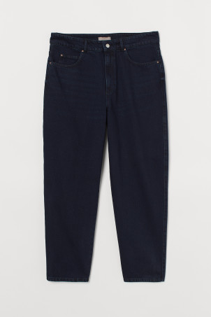 H&M+ Tapered High Jeans