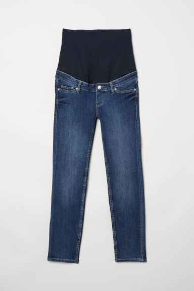 MAMA Slim Ankle Jeans - Denim blue - Ladies | H&M CN