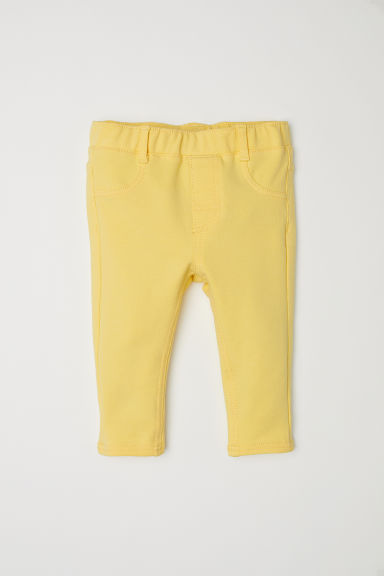 Treggings - Yellow - Kids | H&M CN