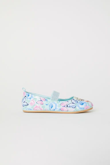 Ballet pumps - Light turquoise/Frozen - Kids | H&M CN