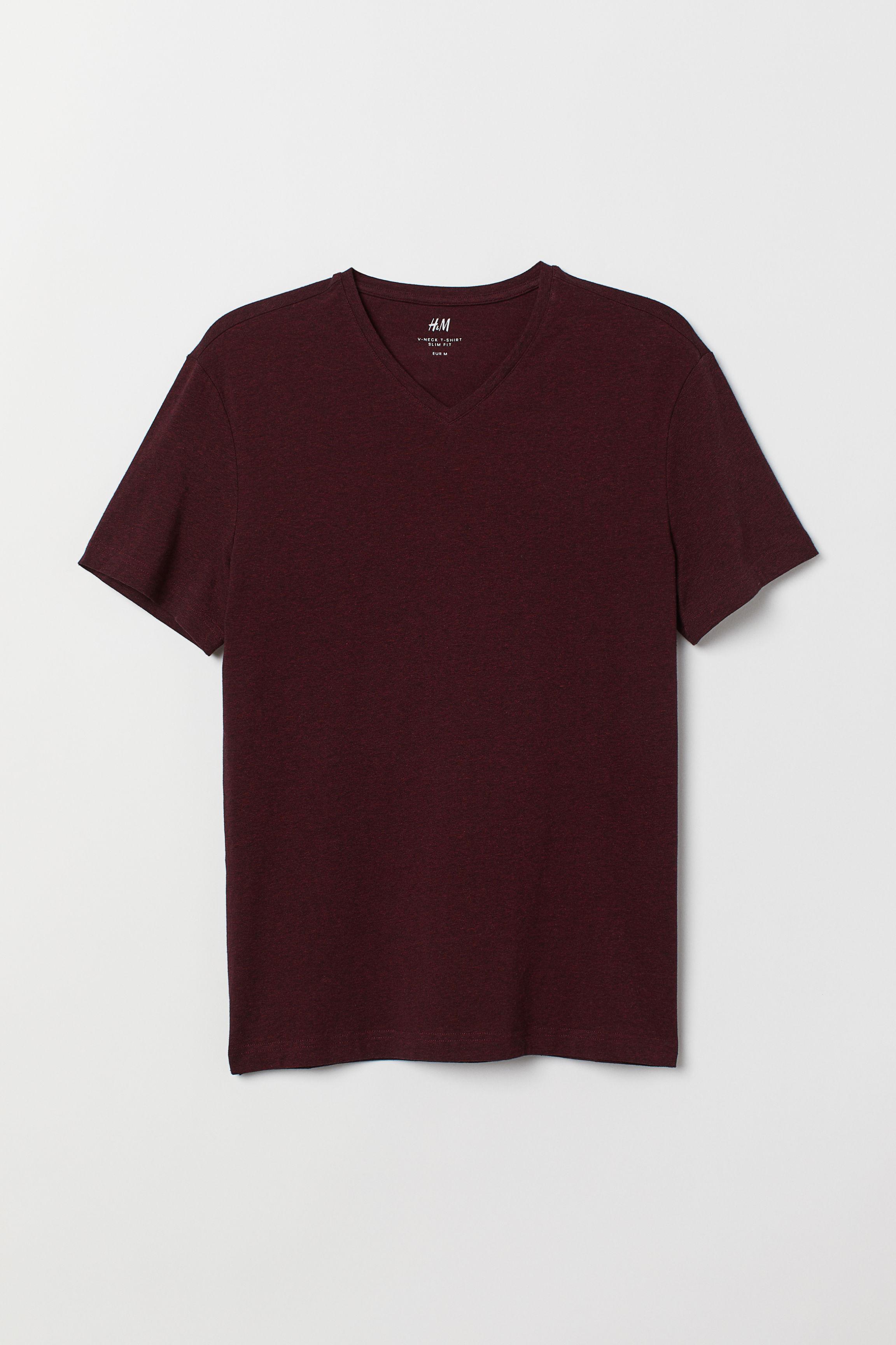 b36e9d61 3-pack T-shirts Slim Fit - Hvit - HERRE | H&M NO