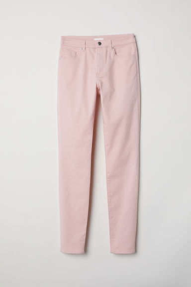 Skinny Regular Jeans - Rose clair -  | H&M FR