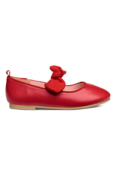 Ballet pumps - Red - Kids | H&M CN
