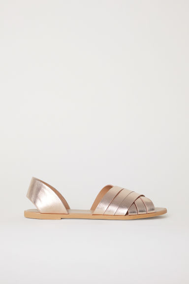 Sandals - Rose gold-coloured - Ladies | H&M CN