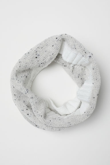 Gebreide snood - Wit -  | H&M BE