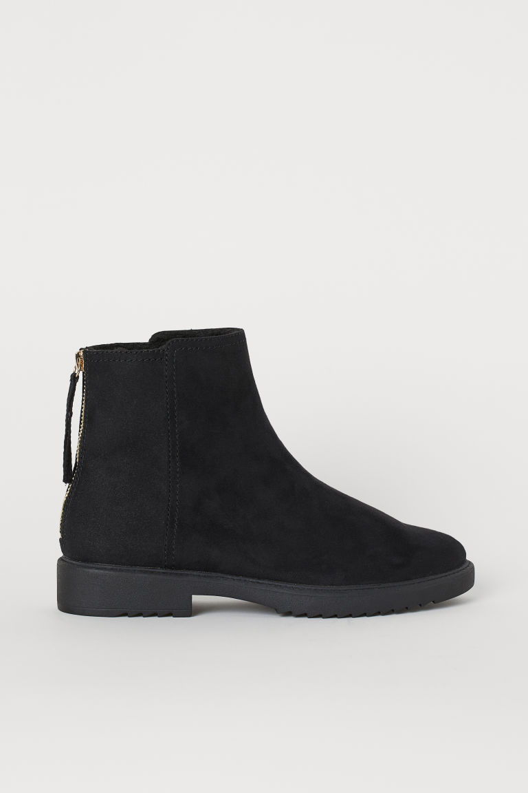 Warm-lined boots - Black - Ladies | H&M