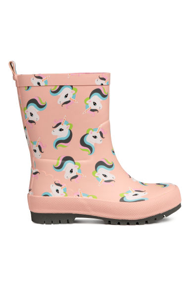 Wellingtons - Pink/Unicorns -  | H&M CN
