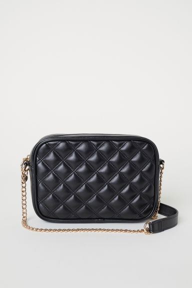 Quilted shoulder bag - Black - Ladies | H&M CN