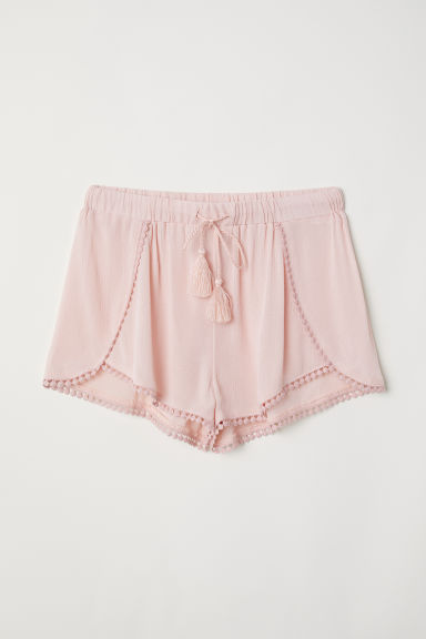 Pull-on shorts - Old rose - Ladies | H&M CN