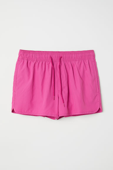 Short swim shorts - Magenta - Men | H&M CN