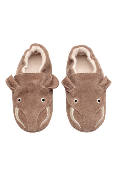 Suede slippers - Mole - Kids | H&M CN