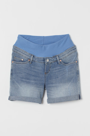 MAMA Shorts Boyfriend de denim