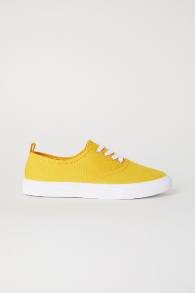 Trainers - Yellow - Ladies | H&M CN