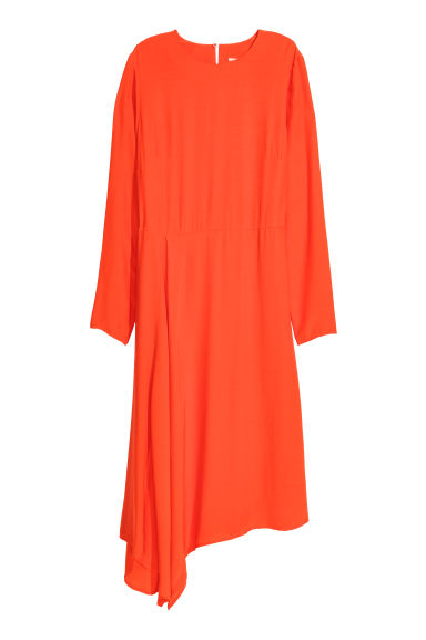 Robe asymétrique - Orange -  | H&M CH