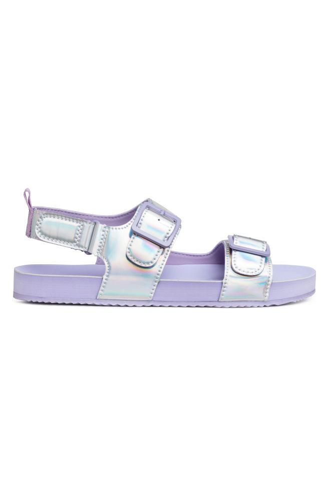 3d9faf81509c Sandals - Purple Metallic - Kids