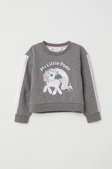Felpa con stampa - Grigio scuro/My Little Pony -  | H&M IT