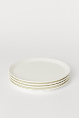 Assiettes, lot de 4