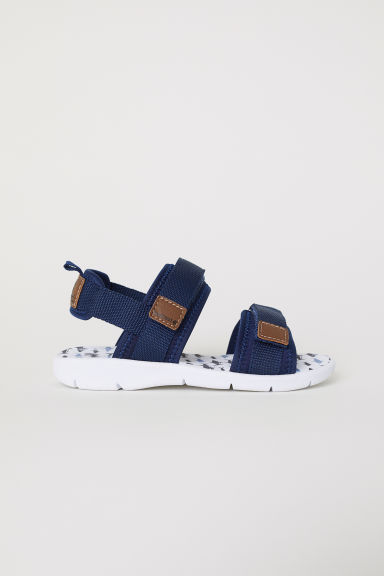 Scuba sandals - Dark blue -  | H&M CN