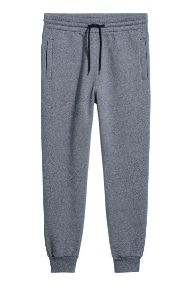 Sweatpants - Blue marl - Men | H&M