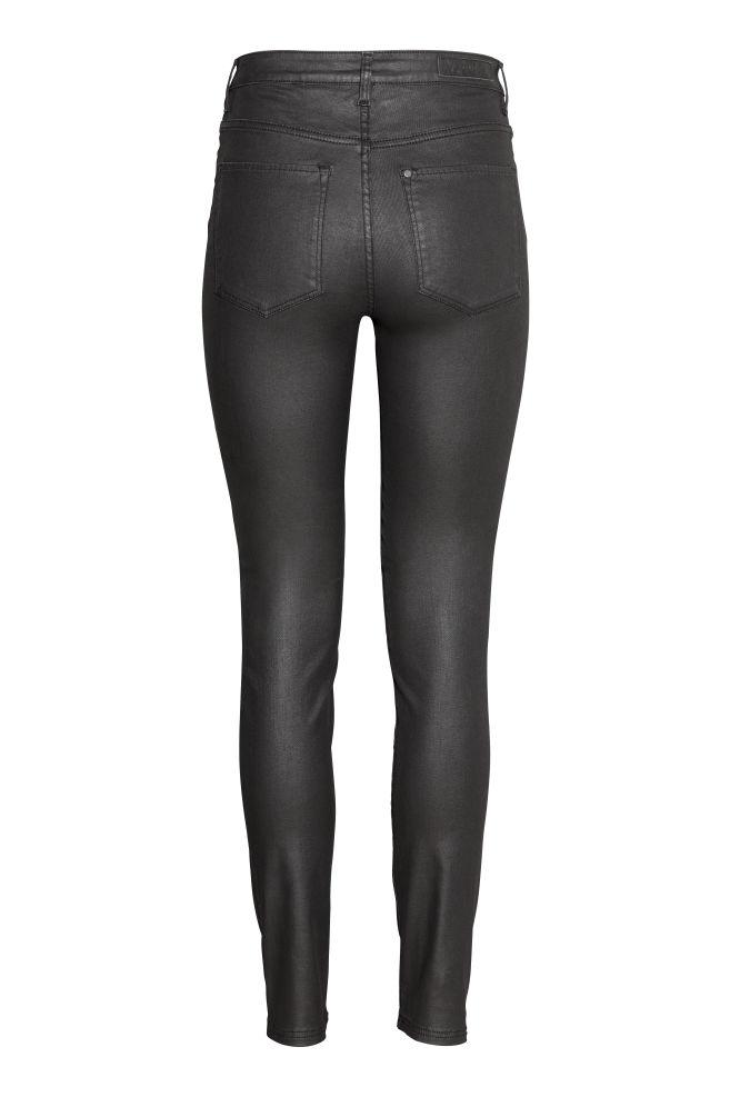 5145184707533 Skinny High Jeans - Noir/enduit - | H&M ...