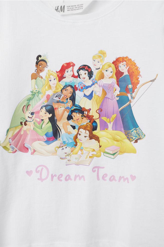 9a7250bfdcd 2 žerzejová trička s potiskem - Sv. růžová Disney princezny - DĚTI ...