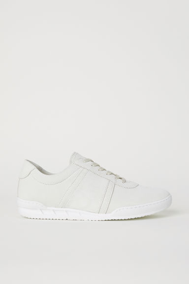 Suede trainers - Natural white - Men | H&M CN