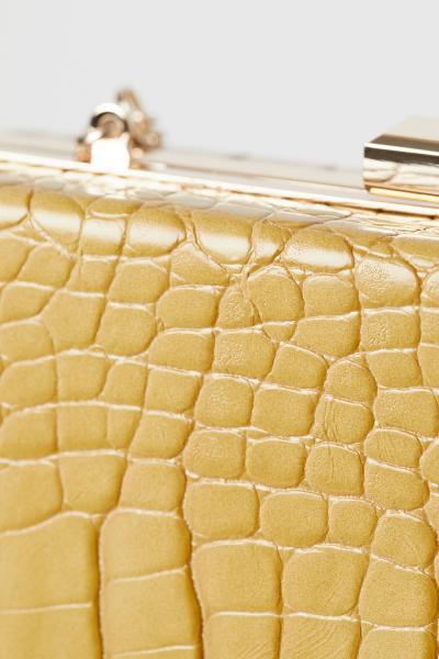 H&M - Snakeskin-patterned clutch bag - 4