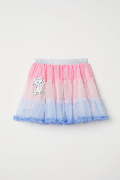 Tulle skirt - Pink/Aristocats - Kids | H&M