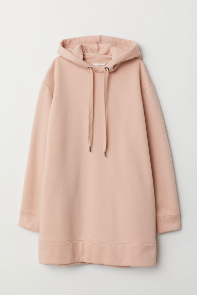 Oversized hooded top - Powder pink -  | H&M GB