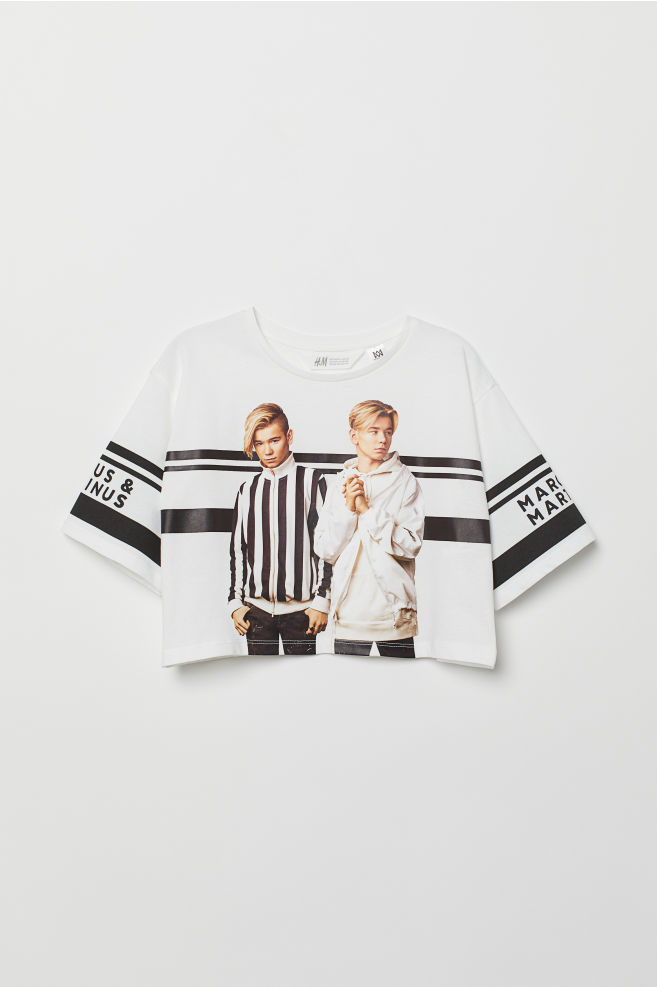 Shirt Mit Motiv Weißmarcus Martinus Kids Hm At