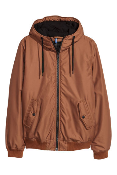 Padded jacket - Light brown - Men | H&M