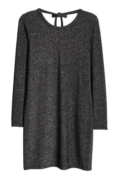 H&M+ Glittery dress - Black/Glittery - Ladies | H&M