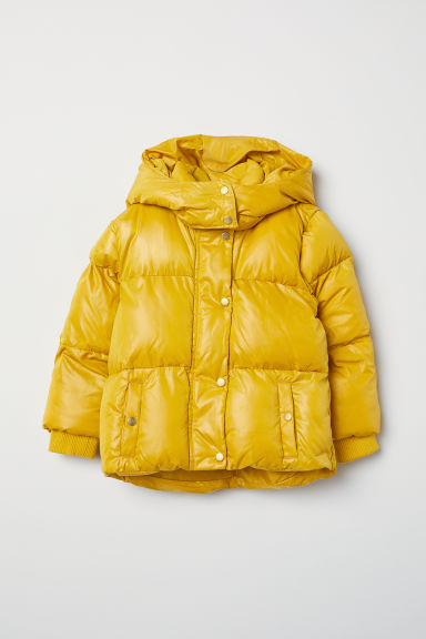 Padded jacket - Yellow - Kids | H&M