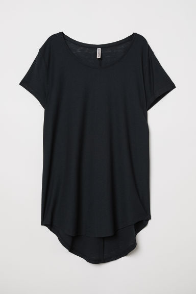 Top in jersey - Nero - DONNA | H&M IT