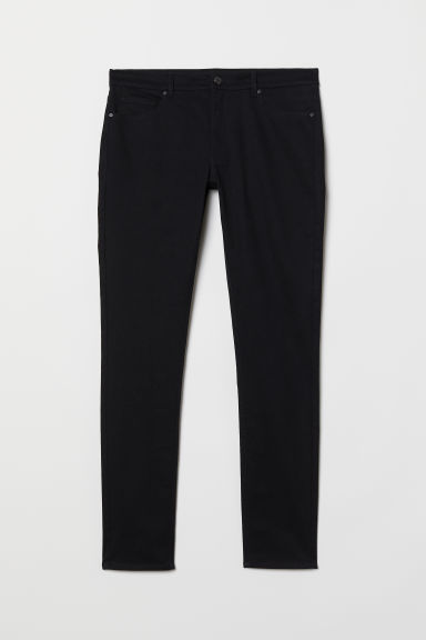 Trousers Super Skinny Fit - Black - Men | H&M CN