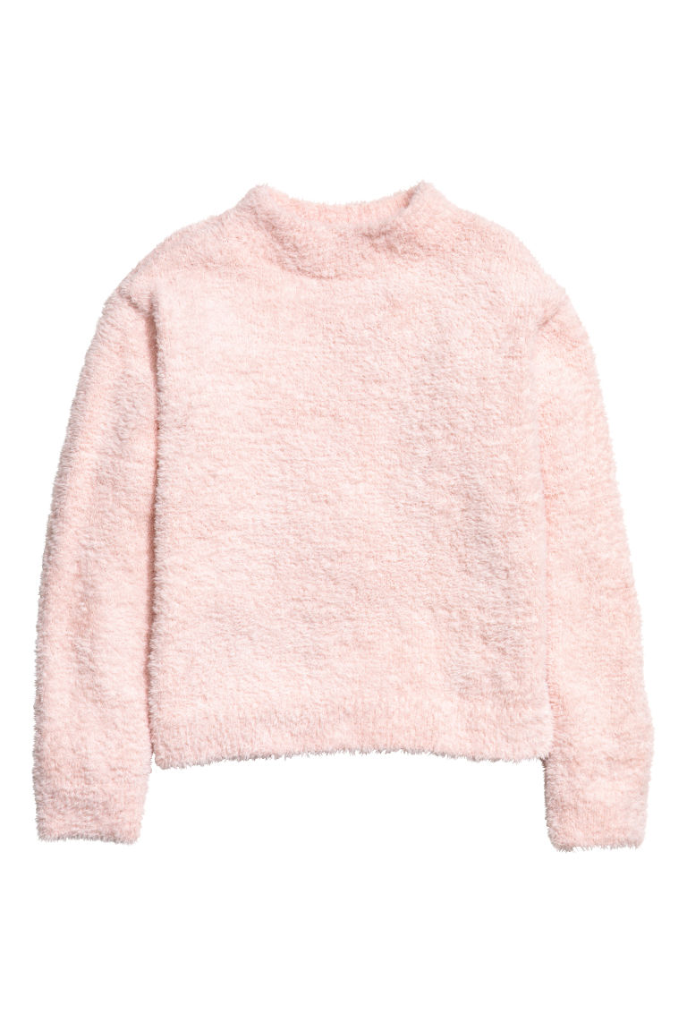Knitted jumper - Light pink - Kids | H&M GB