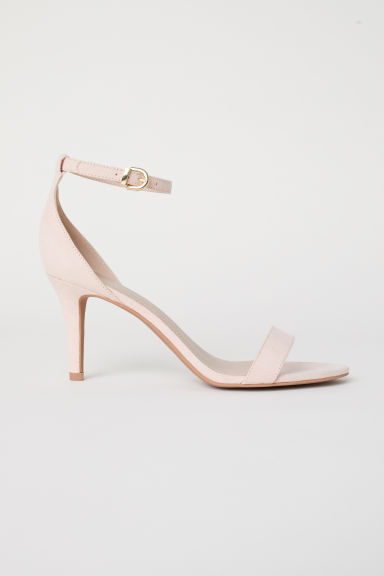 Sandals - Powder pink - Ladies | H&M CN