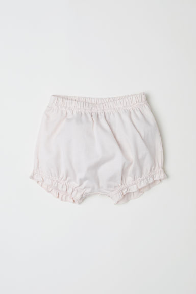 Cotton puff pants - Powder pink - Kids | H&M