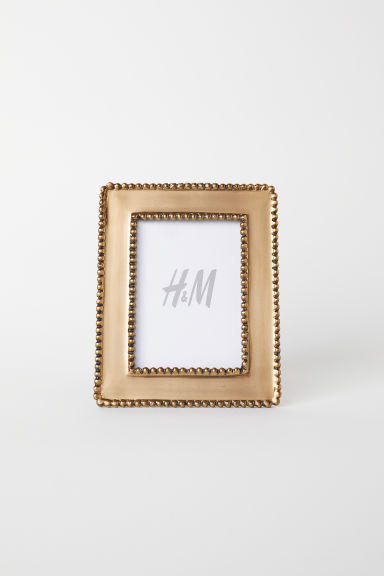 金属相框 - 金色 - Home All | H&M CN