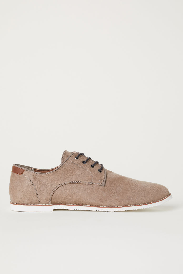 Derbyschoenen - Taupe - HEREN | H&M BE