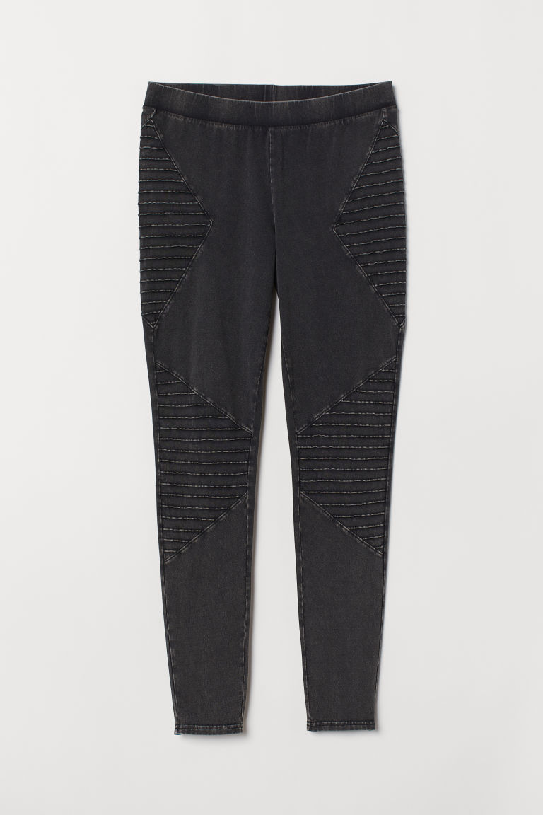 H&M+ Leggings da biker - Grigio scuro mélange - DONNA | H&M IT